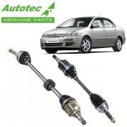 Semi Eixo Corolla 1.6 1.8 16v Automático Com ABS 2003 Até 2008