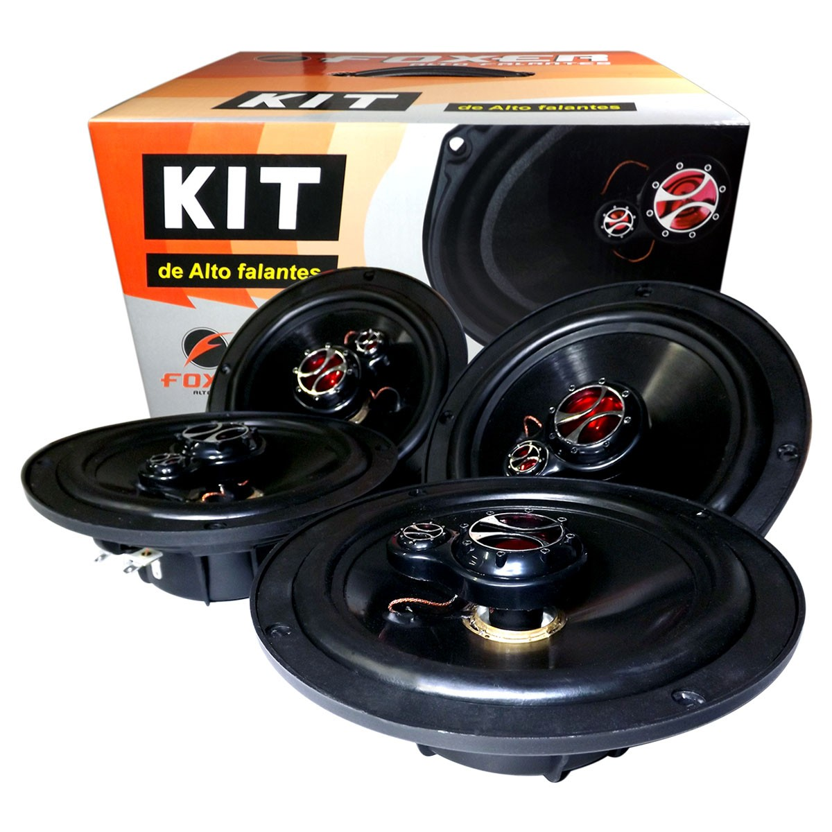 Kit Alto Falante Similar ao Original Onix Cobalt Spin