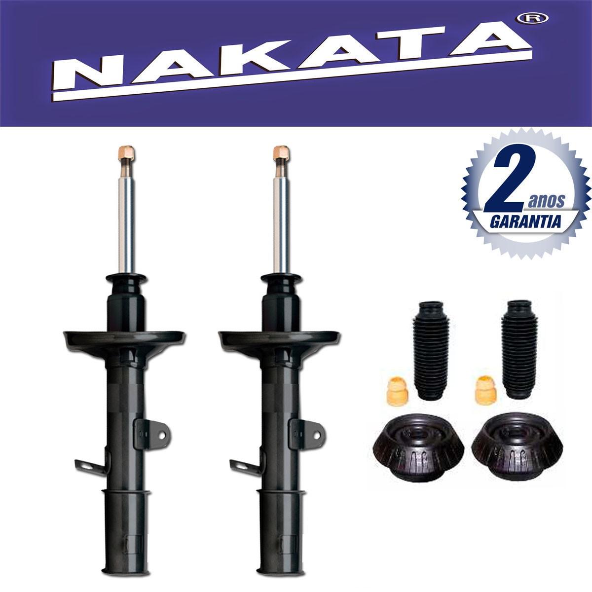 Par de Amortecedores Dianteiro Nakata Hyundai HB20 Hb20s 2012 Até 2015 + Kit da Suspensão
