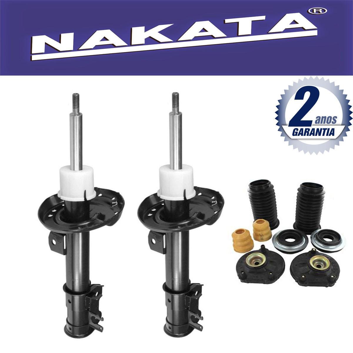 Par de Amortecedores Dianteiro Nakata Punto 2007 Até 2012+ Kit da Suspensão