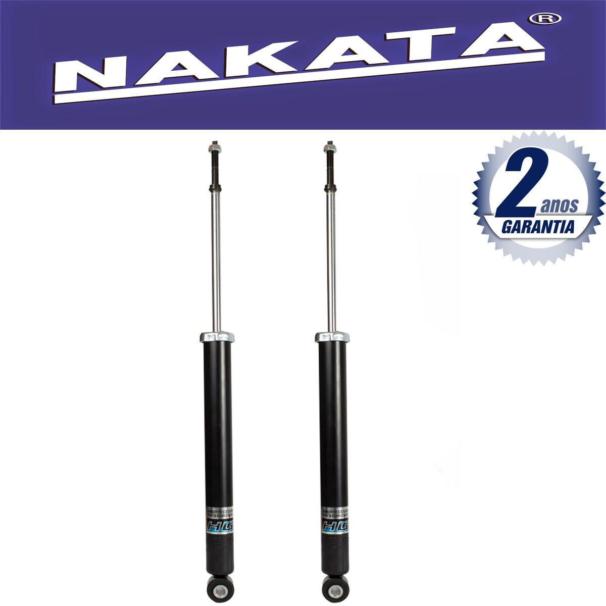 Par de Amortecedores Traseiro Nakata Nissan March 2011 Até 2015