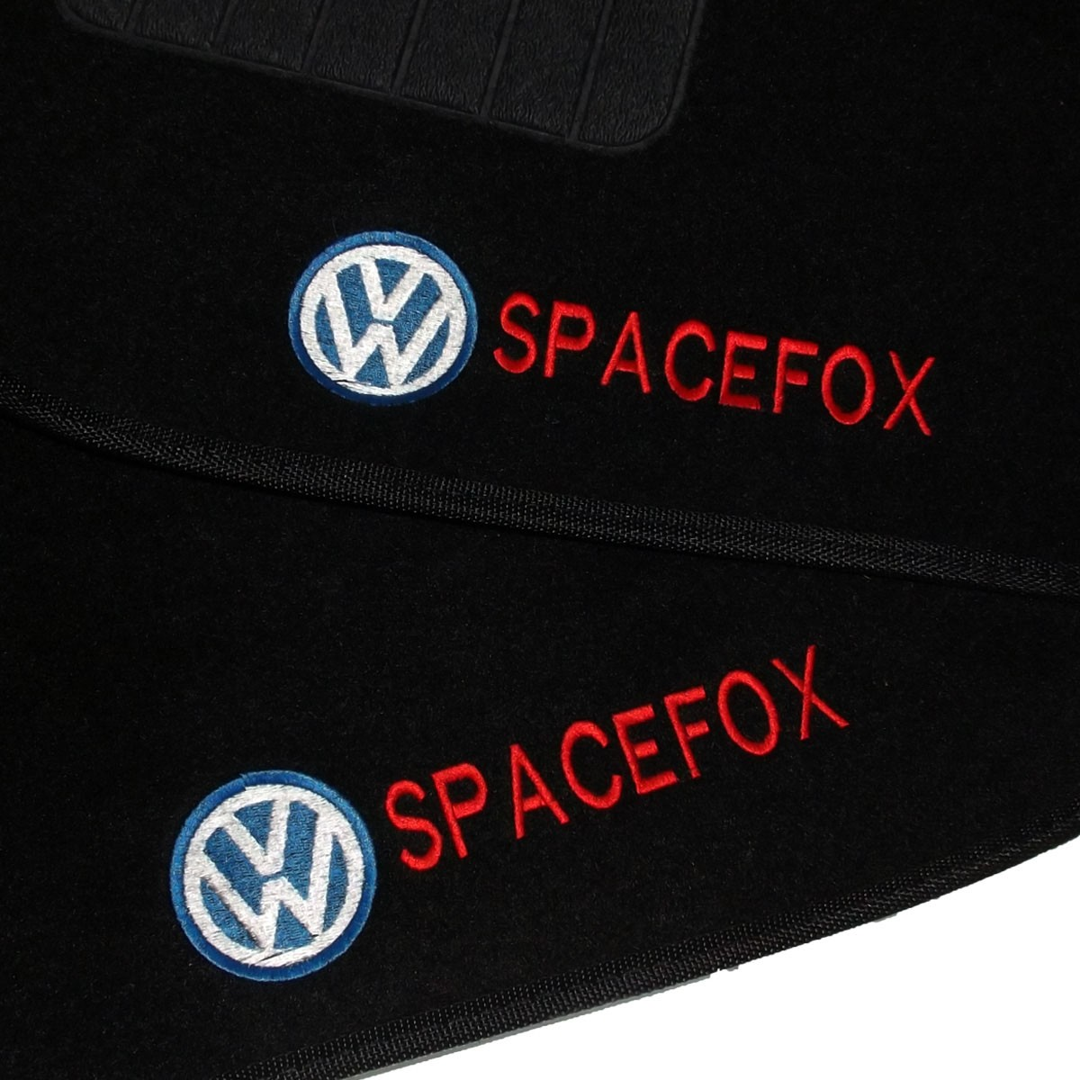 Tapete Carpete Personalizado Logo Bordada Spacefox 2005 até 2015