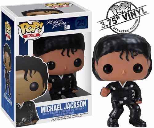 Michael Jackson Bad #25 - Funko Pop! Rock