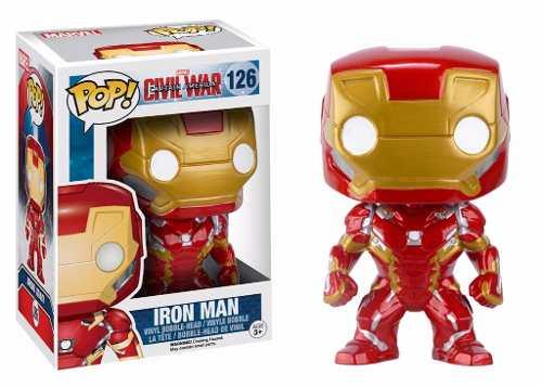 Iron Man #126 ( Homem de Ferro ) - Captain America Civil War ( Capitão América Guerra Civil ) - Funko Pop! Marvel