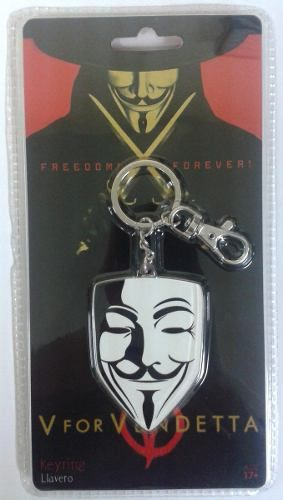 Chaveiro Mask V for Vendetta ( V de Vingança ) - SD Toys