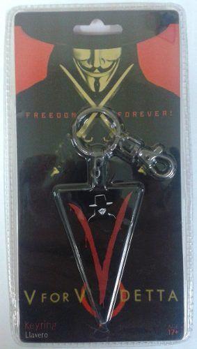 Chaveiro V For Vendetta - ( V De Vingança ) - SD Toys