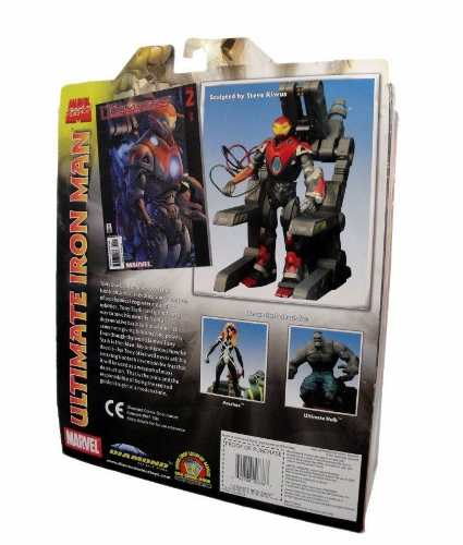 Ultimate Iron Man - ( Homem de Ferro ) - Marvel Select - Diamond Select Toys