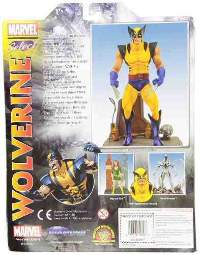 Wolverine - Marvel Select - Diamond Select Toys