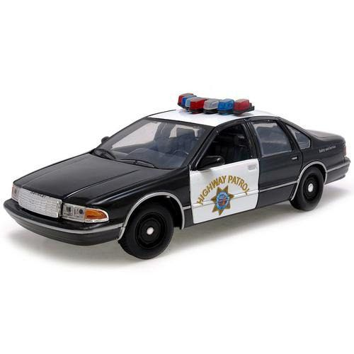 1993 Chevrolet Caprice California Highway Patrol - Escala 1:24 - Motormax