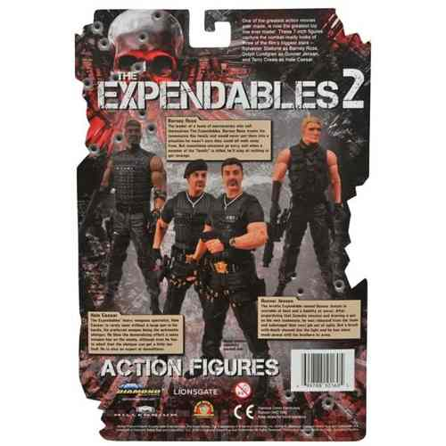 Barney Ross - The Expendables ( Os Mercenários ) - Diamond Select Toy