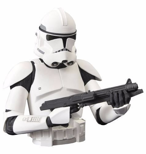 Clone Trooper Bust Bank - Star Wars - Diamond Select Toys
