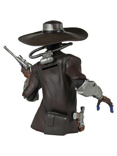 Cad Bane Bust Bank - Star Wars - Diamond Select Toys
