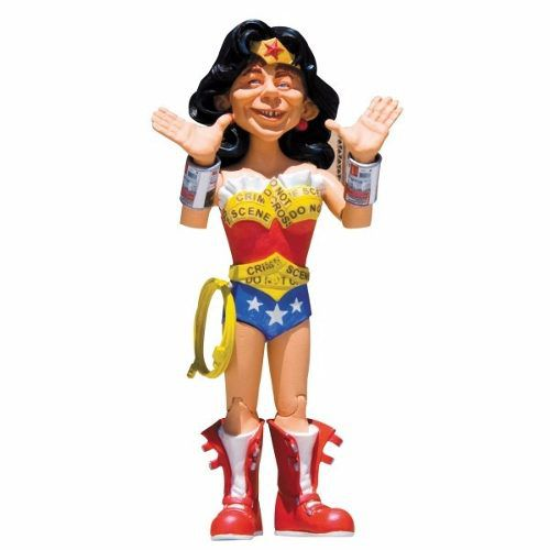 Wonder Woman ( Mulher Maravilha ) - Just-Us League of Stupid Heroes Series 2 - MAD - DC Collectibles