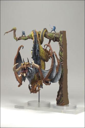 Hunter Dragon ( Dragão Caçador ) - The Rise of Man Series 8 - McFarlane