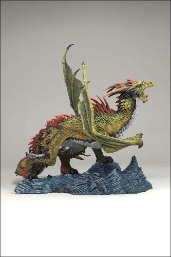 Fire Dragon ( Dragão de Fogo ) - The Fall of The Dragon Kingdom Series 7 - McFarlane