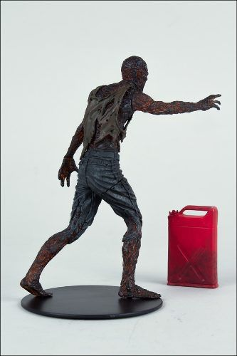 Charred Zombie - The Walking Dead Series 5 - McFarlane