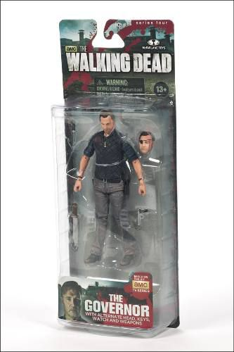 The Governor ( Governador ) - The Walking Dead Series 4 - McFarlane