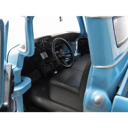 1958 Chevrolet Apache Fleetside Pickup - Escala 1:24 - Motormax