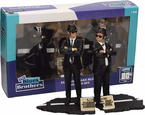 Jake & Elwood Blues - The Blues Brothers ( Os Irmãos Cara de Pau ) - SD Toys