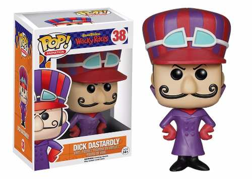 Dick Dastardly #38 ( Vigarista ) - Wacky Races ( Corrida Maluca ) - Funko Pop! Animation