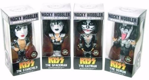 KISS- Funko Wacky Wobbler Limited Edition Glow Chase ( Brilha no Escuro )