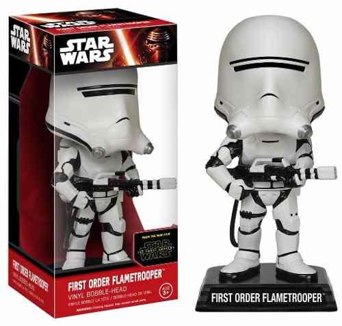 First Order Flametrooper - Star Wars - Funko Wacky Wobbler