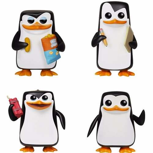 Penguins of Madagascar ( Os Pinguins de Madagascar ) - Funko Pop! Movies