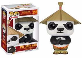 Po with Hat #252 ( com chapéu ) - Kung Fu Panda - Funko Pop! Movies