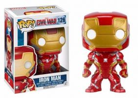 Iron Man #126 ( Homem de Ferro ) - Captain America Civil War ( Capitão América Guerra Civil ) - Funko Pop! Marvel