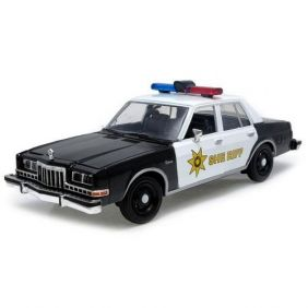 1986 Dodge Diplomat Country Sheriff - Escala 1:24 - Motormax