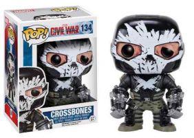 Crossbones #134 ( Ossos Cruzados ) - Captain America Civil War ( Capitão América Guerra Civil ) - Funko Pop! Marvel