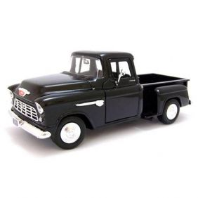 1955 Chevrolet Stepside Pickup - Escala 1:24 - Motormax