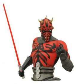 Darth Maul Bust Bank - Star Wars - Diamond Select Toys