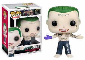 The Joker #96 ( Coringa ) - Suicide Squad ( Esquadrão Suicida ) - Funko Pop! Heroes