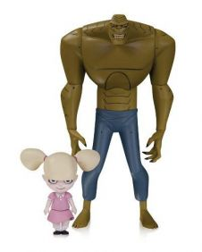 Killer Croc with Baby Doll ( Crocodilo ) - The New Batman Adventures - DC Collectibles