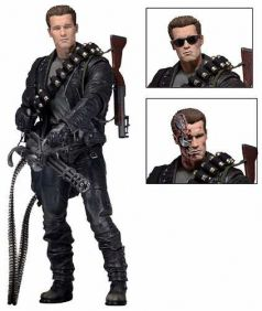 T-800 - Terminator 2 Judgment Day ( Exterminador do Futuro 2 Dia do Julgamento ) - NECA
