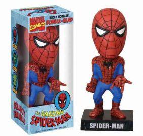 Spider-man ( Homem-Aranha ) - Funko Wacky Wobbler