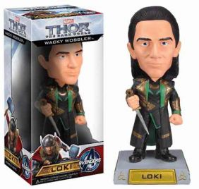 Loki - Thor The Dark World ( Mundo Sombrio ) - Funko Wacky Wobbler