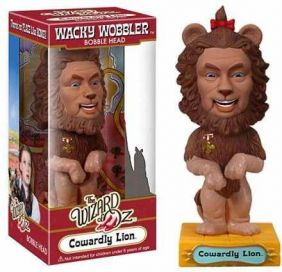 Cowardly Lion ( Leão Covarde ) - The Wizard of Oz ( O Mágico de Oz ) - Funko Wacky Wobbler