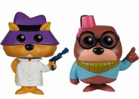 Secret Squirrel #36 & Morocco Mole #37 ( Esquilo sem Grilo & Moleza Topeira ) - Funko Pop! Animation
