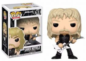 James Hetfield #57 - Metallica - Funko Pop! Rocks