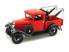 1931 Ford Model A Tow Truck - Escala 1:18 - Signature Models