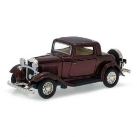 1932 Ford 3-Window Coupe - Escala 1:43 - Yat Ming