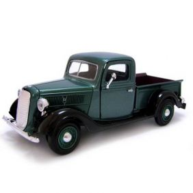 1937 Ford Pickup - Escala 1:24 - Motormax