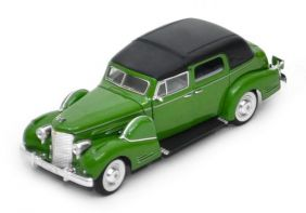 1938 Cadillac V16 Fleetwood - Escala 1:32 - Signature Models