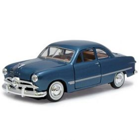 1949 Ford Coupe Azul - Escala 1:24 - Motormax