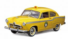 1951 Kaiser Henry J Taxi - Escala 1:18 - Sun Star