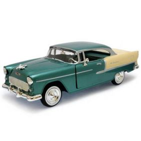 1955 Chevrolet Bel Air - Escala 1:24 - Motormax