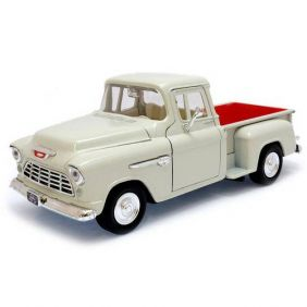 1955 Chevrolet 5100 Stepside Pickup - Escala 1:24 - Motormax