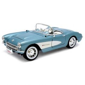 1957 Chevrolet Corvette - Escala 1:18 - Yat Ming